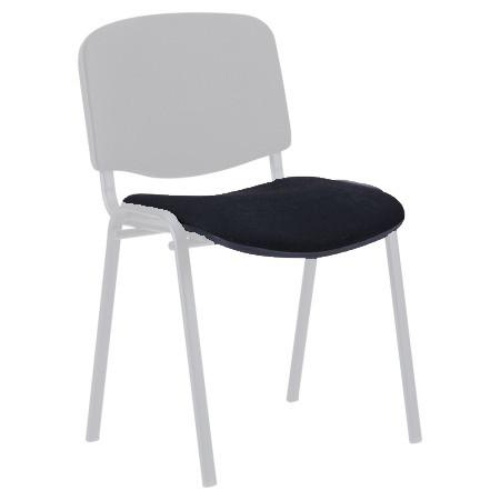 Сидение для стула ИЗО (мягкая часть, без пластика) Цвет черный (А-01)