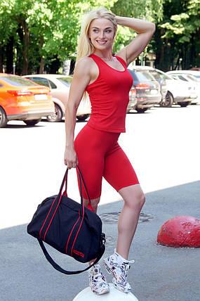 Велосипедки Totalfit HW13-C4 XS Красный, фото 2