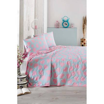 Покрывало 160х220 с наволочкой на кровать, диван Любовь, фото 2