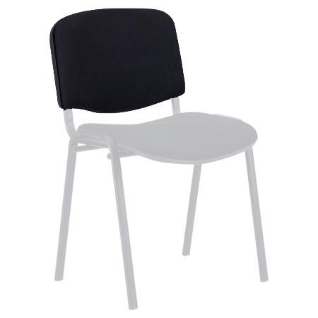 Спинка для стула ИЗО (мягкая часть, без пластика) Цвет черный (А-01)