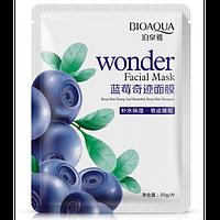 Тканевая маска для лица с экстрактом черники