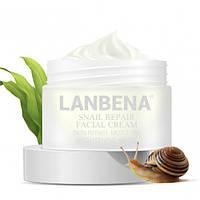Восстанавливающий улиточный крем LANBENA Snail Repair Facial Cream