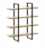Навесная - Настенная Полка в стиле LOFT  (Wall Shelf - 11)