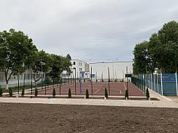 Покрытие для баскетбольной площадки г.Одесса 17