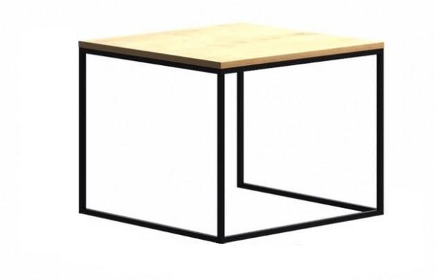 Кофейный Журнальный столик в стиле LOFT (Table - 409)
