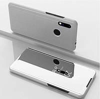 Чехол-книжка Mirror для Xiaomi Redmi Note 7 / Note 7 Pro Зеркальная Серебро