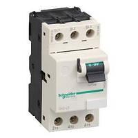 GV2LE14. Автоматический выключатель с магнитным расцепителем. 10A 15кА