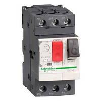 GV2ME03. Автоматический выключатель с регулируемой тепловой защитой. Ток  0.25-0.40