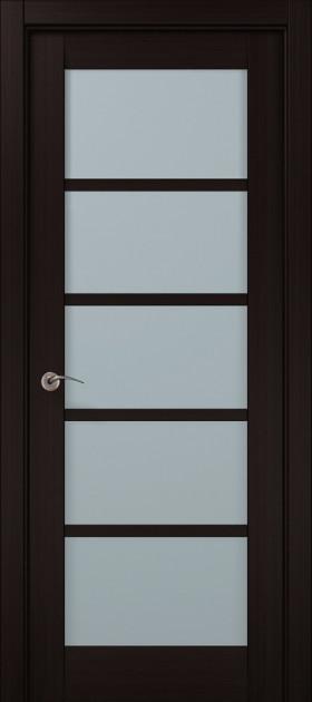 Дверное полотно 2000х610х40 Папа Карло Millenium ML-15 Венге