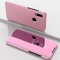 Чехол-книжка Mirror для Xiaomi Redmi Note 7 / Note 7 Pro Зеркальная Розовый