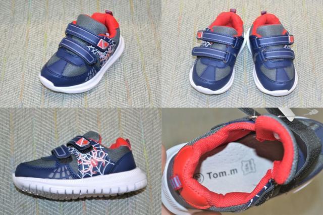 Детские кроссовки, паук, Tom.M фото