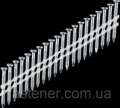 Анкерный гвоздь на пластиковой ленте 34°, 4,0х50, упак.- 1800 шт, Tjep, Швеция