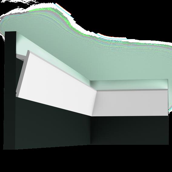 LED профили Orac Decor SX179 (200x2.9x9.7см),лепной декор из полиуретана.