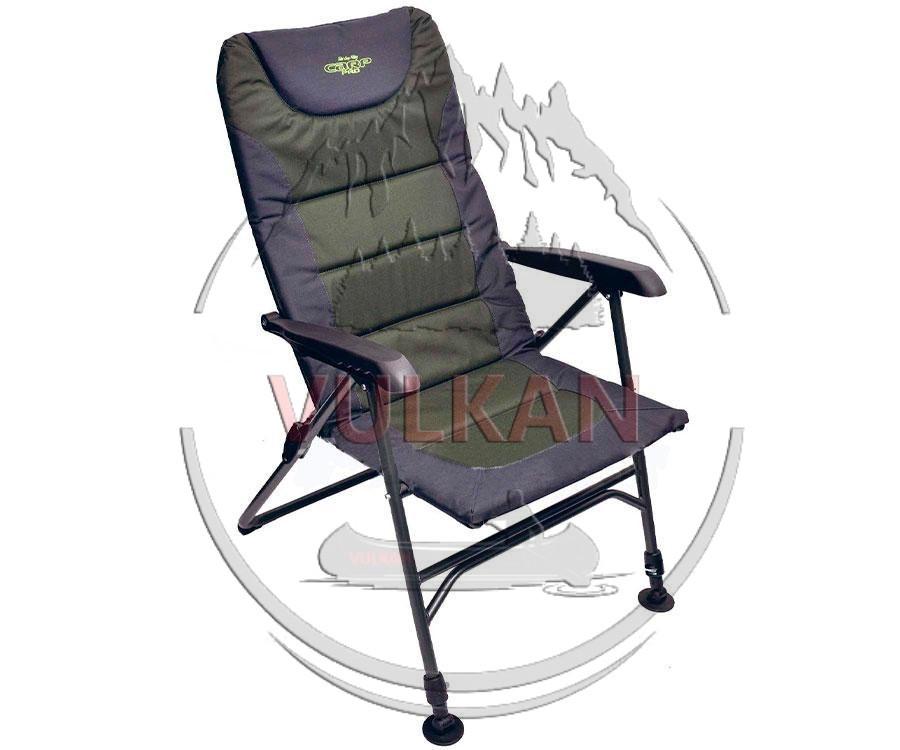 Кресло-шезлонг с регулировкой наклона спинки Flagman Carp Pro