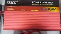 Преобразователь инвертор AC/DC SSK 24v-220v 2500w ВАТ