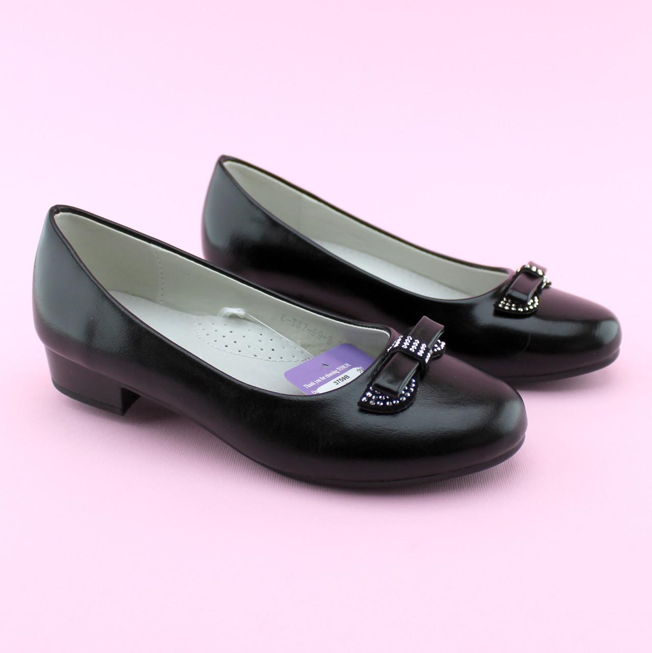 Туфли для девочки на каблучке тм Том.М размер 35,37