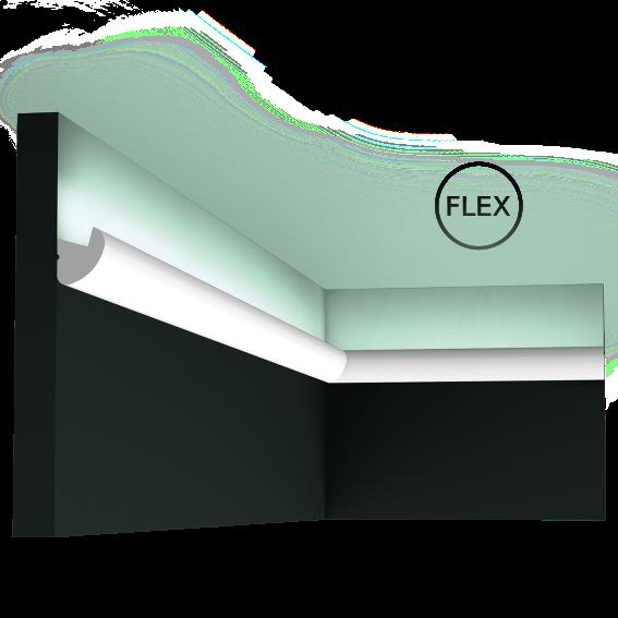 LED профили Orac Decor CX188F (200x3x3.4см),лепной декор из полиуретана.