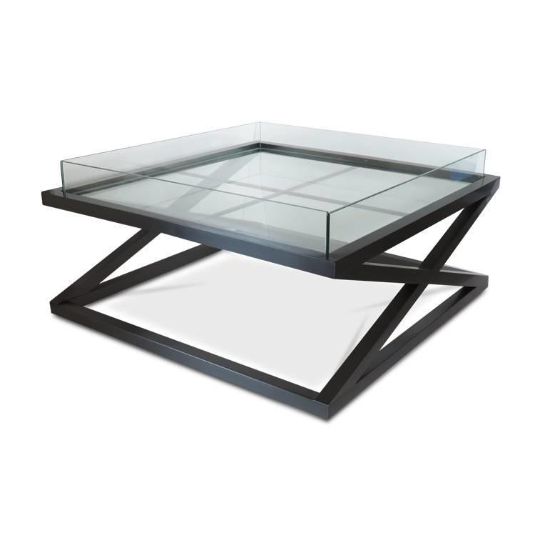 Кавовий Журнальний столик у стилі LOFT (Table - 487)