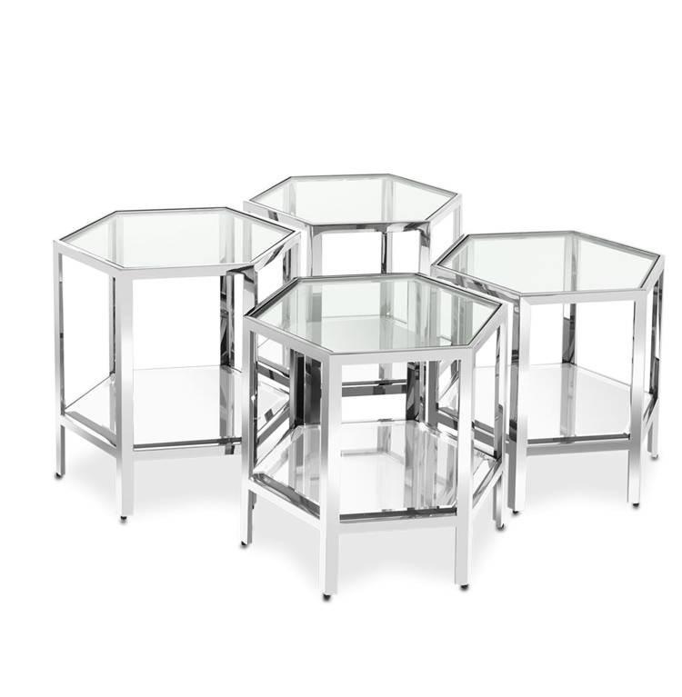 Кофейный Журнальный столик в стиле LOFT (Table - 497)