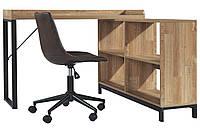 Угловой Письменный стол в стиле LOFT (Office Table - 057), фото 1