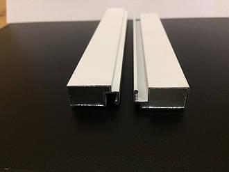 Профиль москитный внешний 10х20 Standart RAL9016 (транспортный белый)