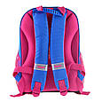 557710 Красивый каркасный школьный рюкзак 1 Вересня H-27 Owl party 25*36*13, фото 3