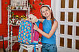557710 Красивый каркасный школьный рюкзак 1 Вересня H-27 Owl party 25*36*13, фото 6
