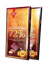 Черный шоколад Спартак горький Элитный 72 % 90 г