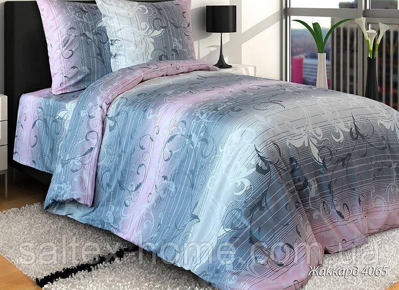 Ткань для постельного белья, бязь набивная, ЖАККАРД