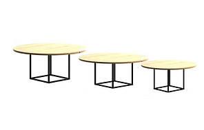 Кофейный Журнальный столик в стиле LOFT (Table - 402)