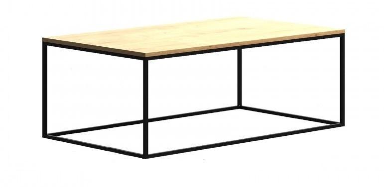 Кофейный Журнальный столик в стиле LOFT (Table - 446)