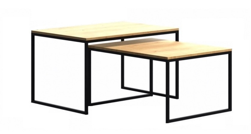 Кофейный Журнальный столик в стиле LOFT (Table - 467)