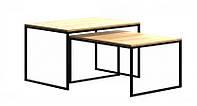 Кофейный Журнальный столик в стиле LOFT (Table - 467), фото 1