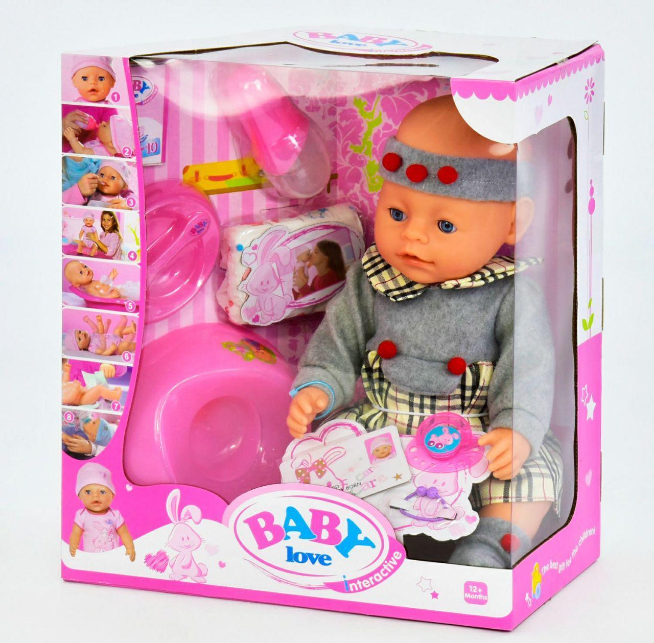 Кукла-пупс Baby Born, игрушка для девочки беби борн