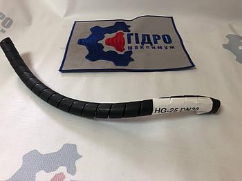 Пружинная пластиковая защита на РВД 20-25, толщина 2 (HG-25 ) (черная)