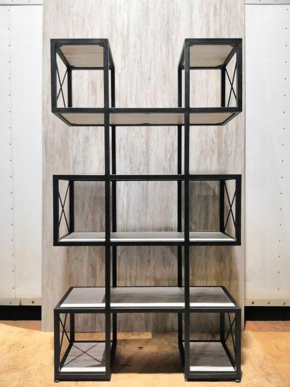 Стеллаж для хранения в стиле LOFT (Rack - 043)