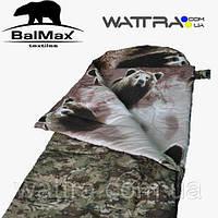 """⭐ Спальный мешок (-15 °C) """"Balmax (Аляска) Standart Plus series"""", одеяло с подголовником, размер 250х100"""