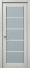 Дверное полотно 2000х610х40 Папа Карло Millenium ML-15 Ясень белый