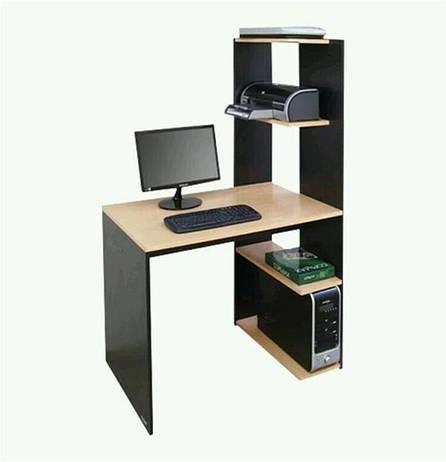 Стол компьютерный СК-6 (Венге / Дуб Сонома), фото 2
