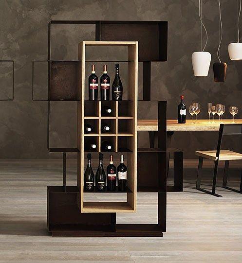 Стеллаж для вина в стиле LOFT (Rack - 076)