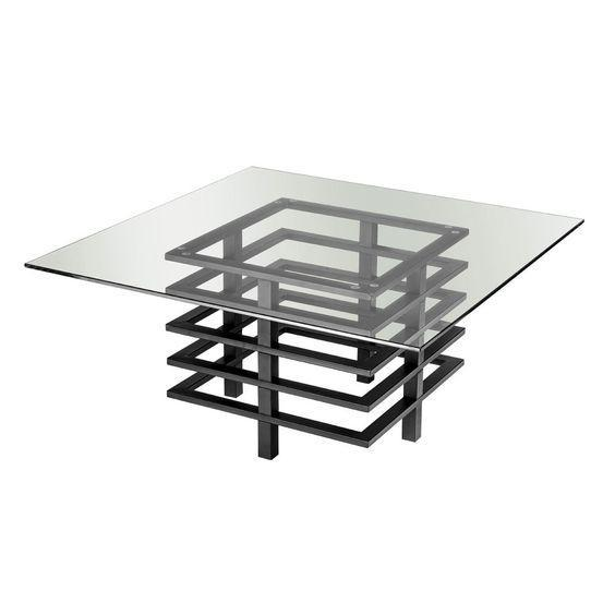 Кофейный Журнальный столик в стиле LOFT (Table - 511)