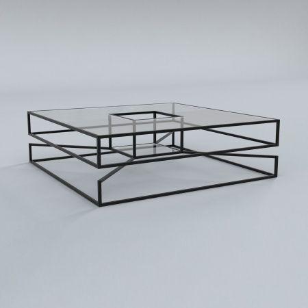 Кофейный Журнальный столик в стиле LOFT (Table - 526)
