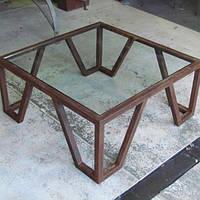 Кофейный Журнальный столик в стиле LOFT (Table - 528)
