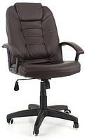 Офисное кресло компьютерное EKO 7410 (Эко-кожа, механизм TILT, тёмно-коричневое)