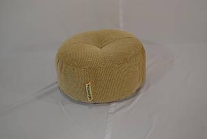 Пуфик шайба из мебельной ткани, фото 2