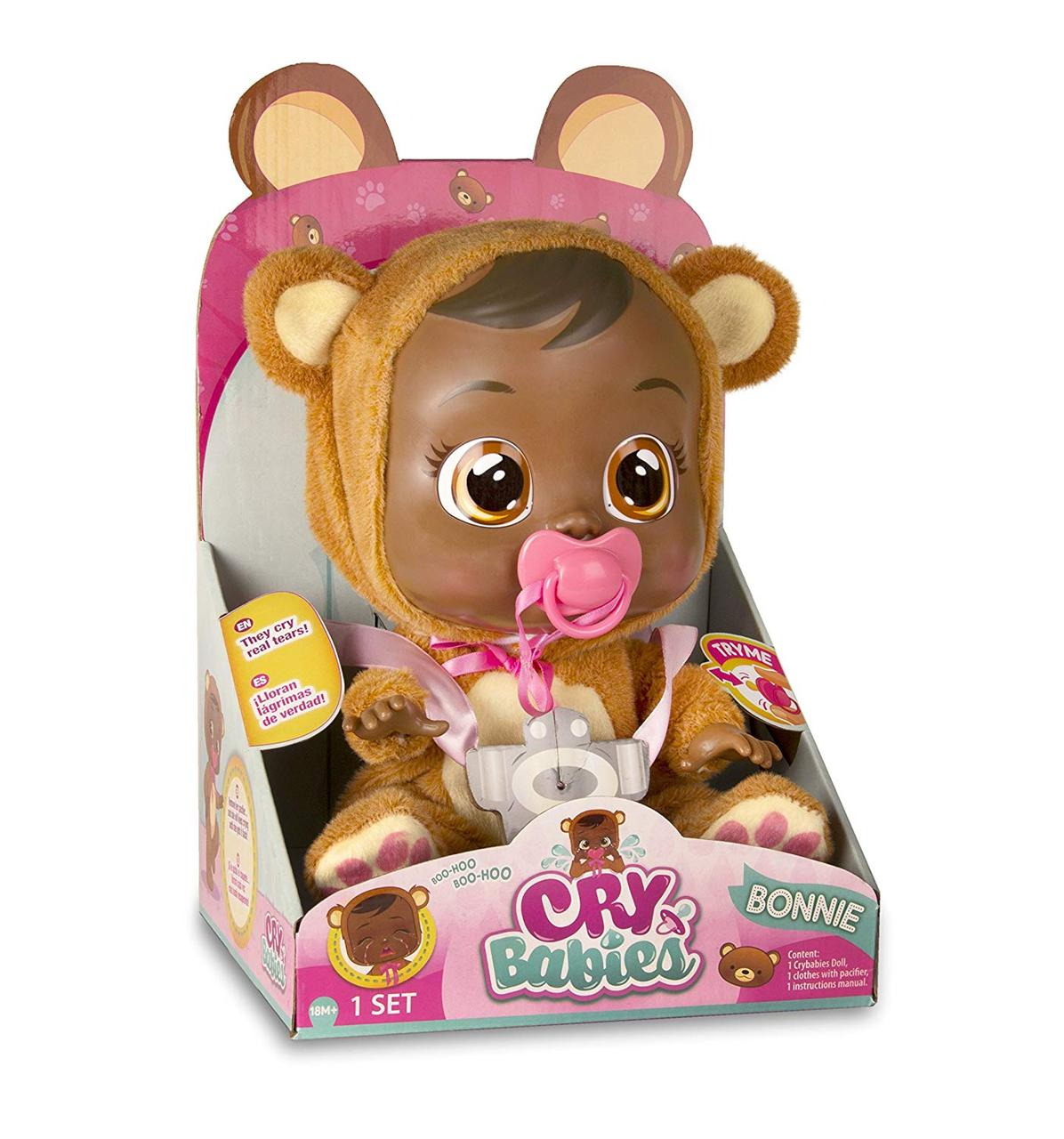 Интерактивная кукла пупс Плачущий младенец Бони Cry Babies Bonnie Doll