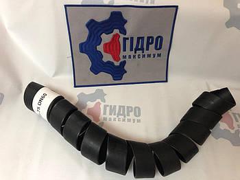 Пружинная пластиковая защита на РВД 60-75, толщина 3,8 (HG-75) (черная)