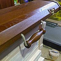 Дубовый футляр для шампуров, фото 1