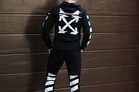 Спортивный костюм в стиле Off White мужской черный