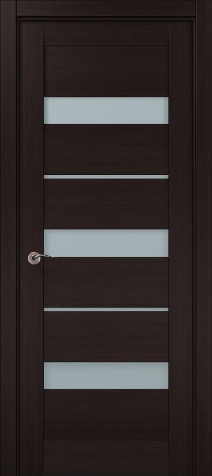 Дверное полотно 2000х610х40 Папа Карло Millenium ML-22 Венге